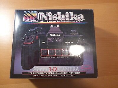 Nishika N8000 3D 35Mm Camera Nib