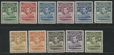 Basutoland KGVI 1938 complete set to 10/ mint o.g.