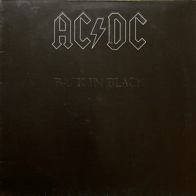 AC/DC - Back In Black LP 1980