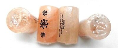 Himalayan Salt Tequila Shot Glass Set (4 Glasses) With Print Sealed