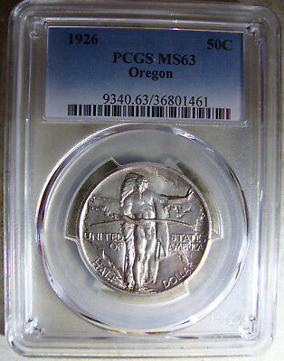 1926-P Oregon Trail Commemorative Half Dollar - PCGS MS-63