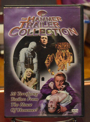 The Hammer Trailer Collection (DVD,1999) Hammer Horror OOP RARE FREE SHIPPING