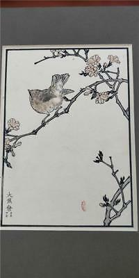 Original Japanese Woodblock Print Over 100 Years Old