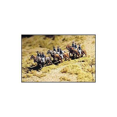 """""""MOUNTED CAVALRY - WALKING - USA"""" - N SCALE - #ACW-14 by GHQ!"""