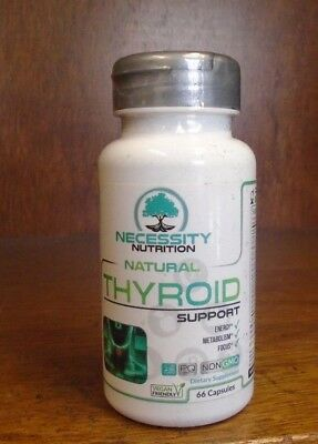 Thyroid Support Supplement Complex Iodine Energy Metabolism 66 Capsules