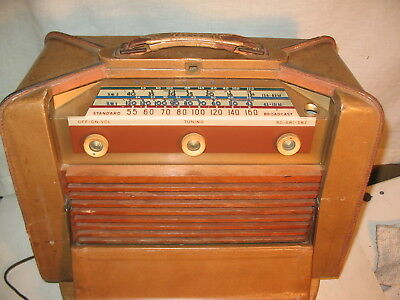 Philco Trophic altes Kofferradio Röhrenradio