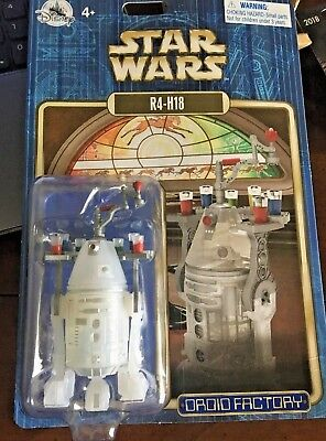 NEW 2018 Disney Parks Star Wars Astromech Christmas Holiday R4-H18 Droid Factory