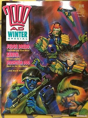 2000AD Winter Special issue 1 1988 Good condition