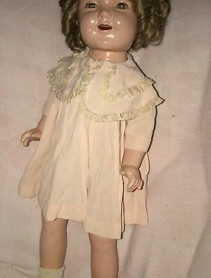 VINTAGE Tagged COAT Madame Alexander BABY GENIUS DOLL fits SHIRLEY TEMPLE