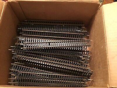 Ho Brass Straight Track Lot Of 87 Pieces