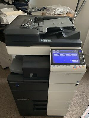 Konica Minolta Bizhub C454e Photocopier Printer Copy/Scan & some with Fax