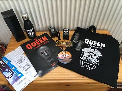 Queen With Adam Lambert, Vip Gifts, 2017 .. Ideal For Christmas???