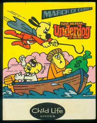 1981 March Of Comics Have No Fear...Underdog Is Here Comics, No. 479, Shoes