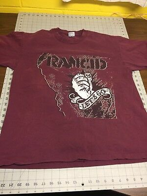 Vintage Rancid Let's Go promo shirt XL vintage 1994 Epitaph Records RARE