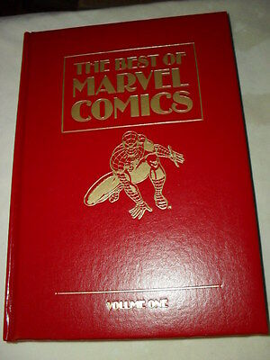 """""""THE BEST OF MARVEL COMICS VOL. 1"""" Black Panther, Hardcover. Kirby, Ditko, Byrne"""
