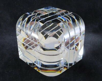 Denali Crystal Limited Edition Paperweight 37/100 W Box Mint Rare Comdisco Inc