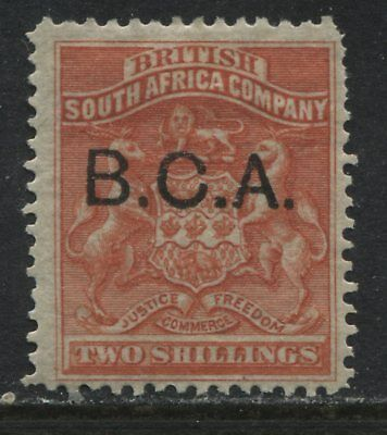 British Central Africa 1891 3/ vermilion mint o.g.