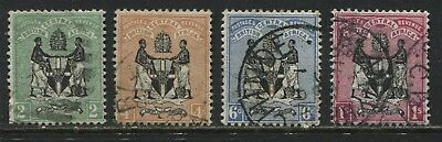 British Central Africa 1895 2d to 1/ used