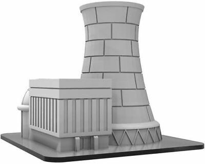 Monsterpocalypse Power Plant - PIP51045 - Brand New Free Shipping
