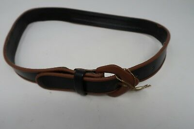 AWESOME Old Antique 1970's LEATHER Belt Vintage LQQK Purse - Abbe Creation