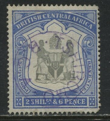 British Central Africa 1897 2/6d used