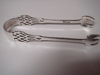 Lunt Sterling ice tongs
