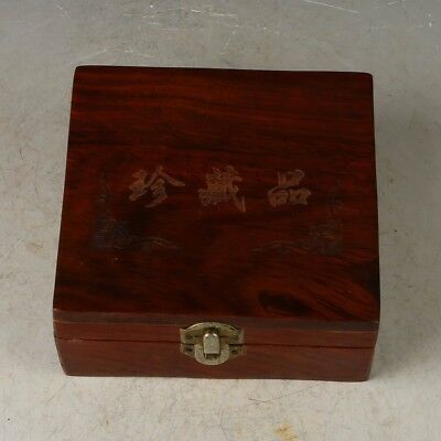 Exquisite antique wood collection box (decorate your room)