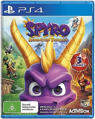 Spyro Reignited Trilogy PS4 BRAND NEW CHEAPEST PRICE