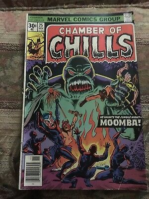 Chamber of Chills (1972 series) #25 in Fair Marvel comics