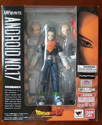 S.H. Figuarts Dragonball Z Android 17 - Brand New in Box