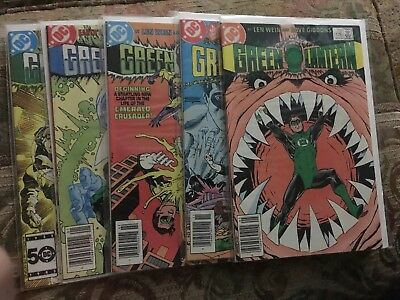 GREEN LANTERN comic lot  5 Comics