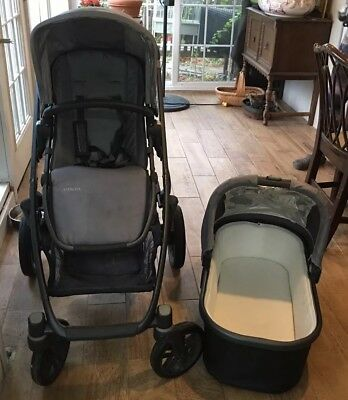 UPPAbaby Vista Travel System Single Seat Stroller And Bassinet-Local P/U 11050