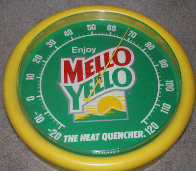 Mello Yellow 14 Inch Thermometer