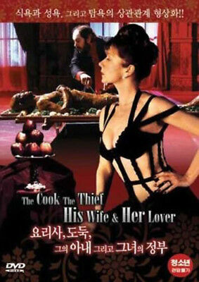 The Cook, The Thief, His Wife & Her Lover / Peter Greenaway, 1989 / NEW