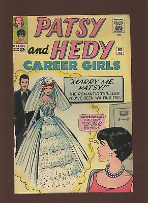 Patsy and Hedy 98 FN+ 6.5 * 1 Book * Marvel! Romance! Girls! 1964! Stan Lee!