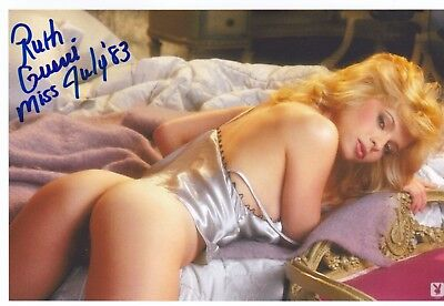 Ruth Guerri Playboy Playmate Signed Autographed 4x6 Glossy Photograph