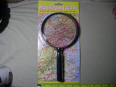 Large Magnifying Glass (NEW) Magnification Magnifier