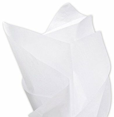 """Acid-free White Tissue Paper 15 x 20"""", Pack of 20 Sheets"""