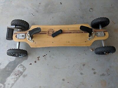 Evolve electric skateboard Bamboo Series