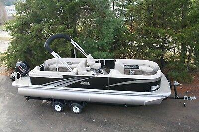 2685 Tmltz Cruise pontoon boat with 115 and trailer