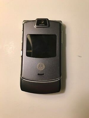 Motorola RAZR V3m - Gray (Sprint) Cellular Phone