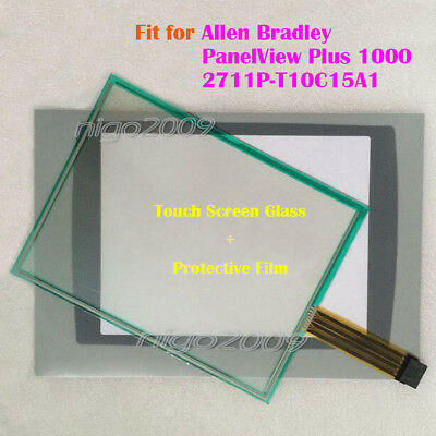 Touch Screen Panel + Film for Allen Bradley  PanelView Plus 1000 2711P-T10C15A1