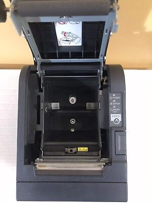 Black EPSON TM-T88IIIP Direct Thermal Receipt Printer W/ Cutter M129C Parallel