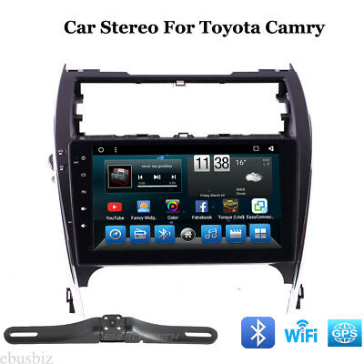 Head Dash Android7.1 Car Stereo GPS Wifi Radio Player Bluetooth For Toyota Camry