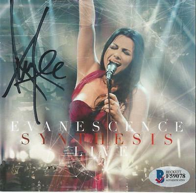 Evanescence Autographed Synthesis Live CD/DVD #2 Signed By Amy Lee Becket COA