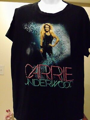 Carrie Underwood  The Blown Away Tour Women's T-Shirt 2 sided  Large