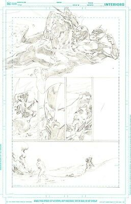 Deathstroke vs Batman issue 1 page ? by Carlo Pagulayan