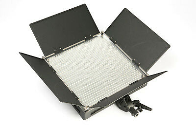 LED panel, 1x1ft, Variable colour temp, 1k Equ w/ case, power lead, EX HIRE UNIT
