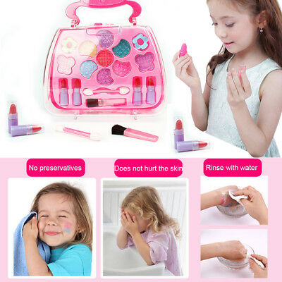 Make Up Toys Pretend Play Set Deluxe Princess Girl's Makeup Palette Kit Kid Gift