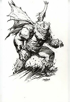 Gargoyle of the Defenders by James Daily III